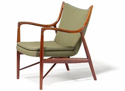 Easy Chair Nv 45 By Finn Juhl On Artnet