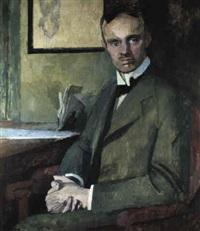 portrait dr. wilhelm romland (l_denscheid) by franz nölken