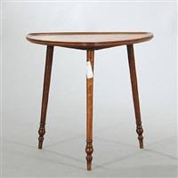 small art nouveau side table by émile gallé
