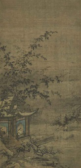 scholars in the pavilions (2 works) by anonymous-chinese (14)