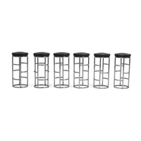 bar stools (set of 6) by eckart muthesius