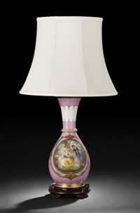 lamp by limoges