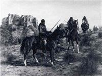 geronimo on a hunting trip by herbert wackerman