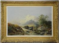 paysage avec cours d'eau by jean francois xavier roffiaen