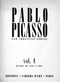 pablo picasso, catalogue de l'oeuvre 1895 - 1944 (vol. i - xiii) (catalogue raisonné) by christian zervos