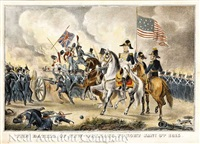 the battle of new-orleans, fought jan. 8th, 1815 by nathaniel currier