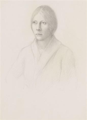 porträt einer jungen frau by william h bailey