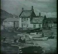 a quiet harbour by william yorke macgregor