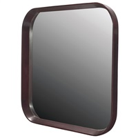 paldao wall mirror by gilbert rohde