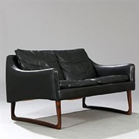 Hans Olsen. Freestanding two seater sofa