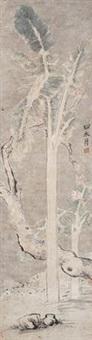 芭蕉图 by xu wei