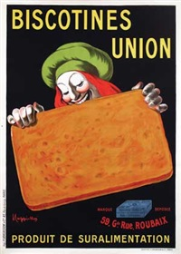 biscotines union by leonetto cappiello