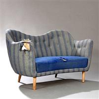 freestanding two seater sofa by finn juhl