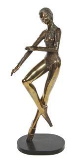 dancing girl by prince monyo mihailescu-nasturel