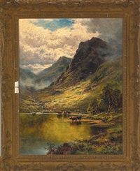 loch corvisk by henry decon hillier