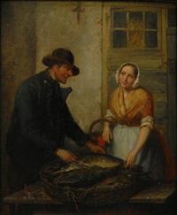 beim fischhändler by jacob akkersdijk