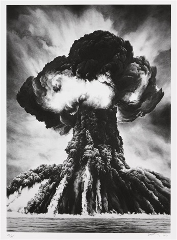 russian bomb themsemipalatinsk by robert longo