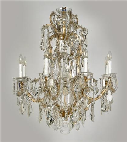 A lobmeyr chandelier in crown shape by j l lobmeyr on artnet a lobmeyr chandelier in crown shape by j l lobmeyr aloadofball Image collections