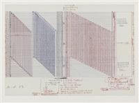ohne titel (100 querschnitte - xerox-tabelle) by hanne darboven