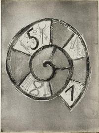une saison en enfer (bk w/24 works & text by jean arthur rimbaud, folio) by germaine richier