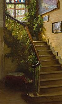 Treppenaufgang haus