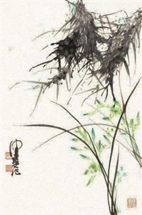兰花 (一件) by chen peiqiu