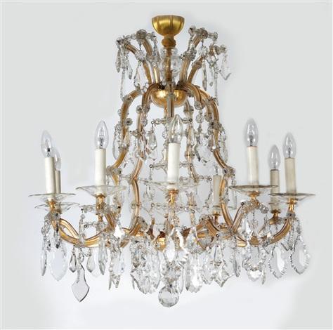 A lobmeyr chandelier by j l lobmeyr on artnet a lobmeyr chandelier by j l lobmeyr aloadofball Image collections