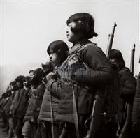 female soldiers in yan'an by xu xiaobing