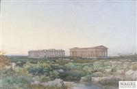 die tempel von paestum by julius zielke