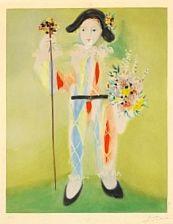 Le petit pierrot aux fleurs by pablo picasso on artnet for Picasso petite fleurs
