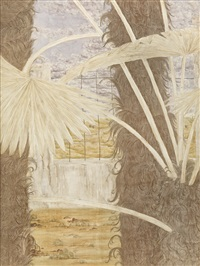 landscape-palm by zhang jian