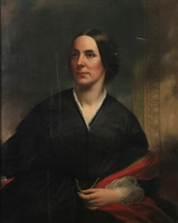 portrait of rebecca watson by samuel bell waugh