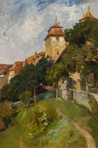 rothenburg ob der tauber by marie egner