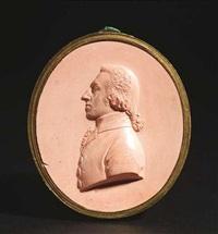 reliefporträt eines jungen mannes (friedrich schiller zur zeit der militärakademie carlsschule?) by johan heinrich von dannecker