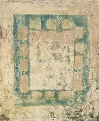 abstrakte komposition in rechteckiger form by enrique tabara