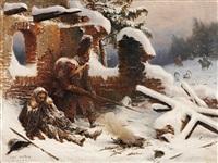 während der napoleonischen kriege by adolf northen