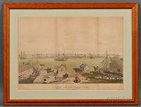 view of newburyport (after a. conant) by fitz henry lane