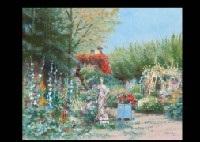 jardin de l'hôtel (+ brillant garden; 2 works) by h. rolf rafflewski