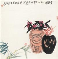 育春图 镜心 纸本 by feng jinsong