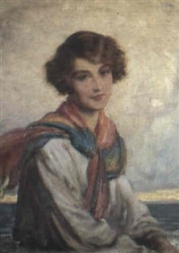 sea breeze by george percy r. e. jacomb-hood