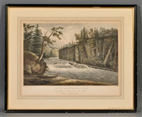 rapids above hadleys falls (after william guy wall) by john hill
