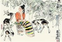 鹿鸣图 by han wu