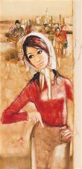 jeune femme by jean-baptiste valadie