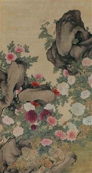 flowers by jiang xun