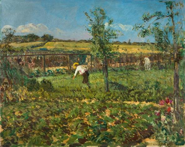 Im Garten By Ulrich Hübner