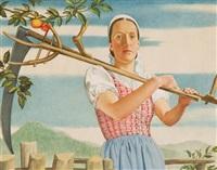 bäuerin by viktor hammer
