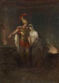 antikes liebespaar by franz xavier simm
