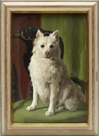 hundporträtt by johan fredrik krouthen