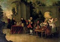 the boardgame by johann esaias nilson