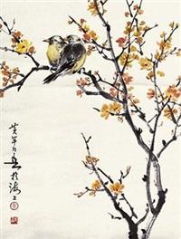 花鸟 by huang huanwu